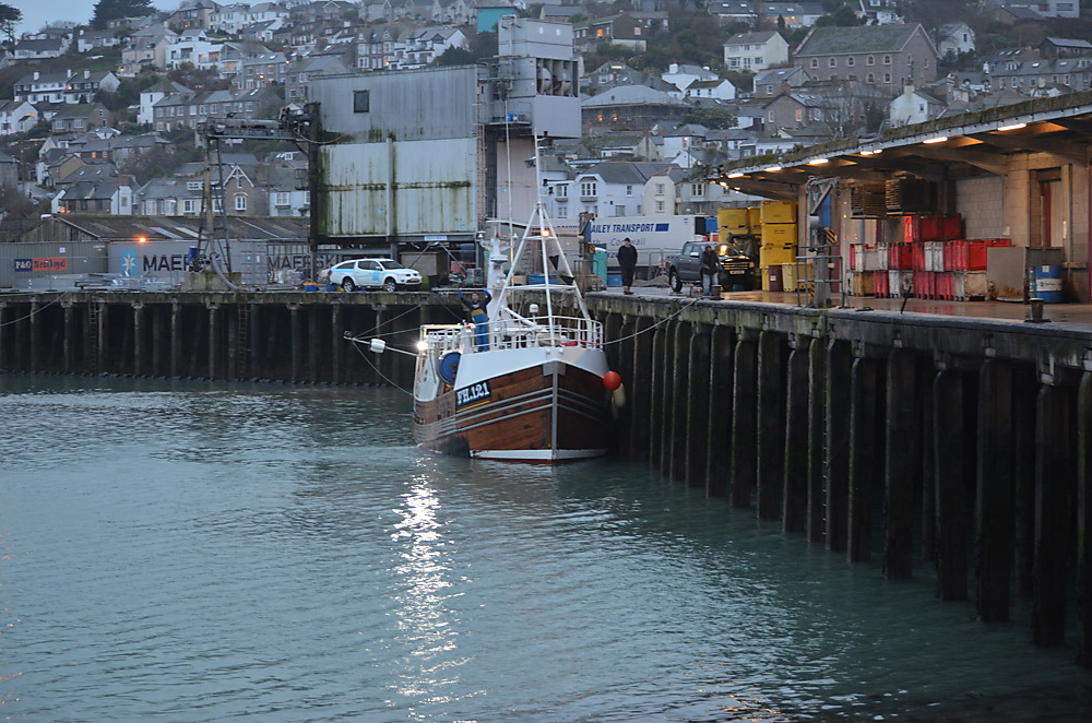 photoblog image All Quiet at Newlyn